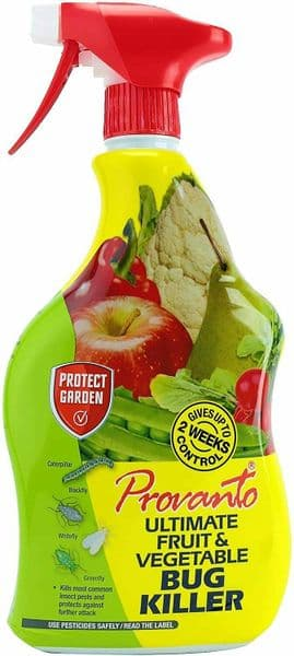 Provanto Bug Spray Killer Fruit and Vegetable Insecticide Protects 2 Weeks 1L
